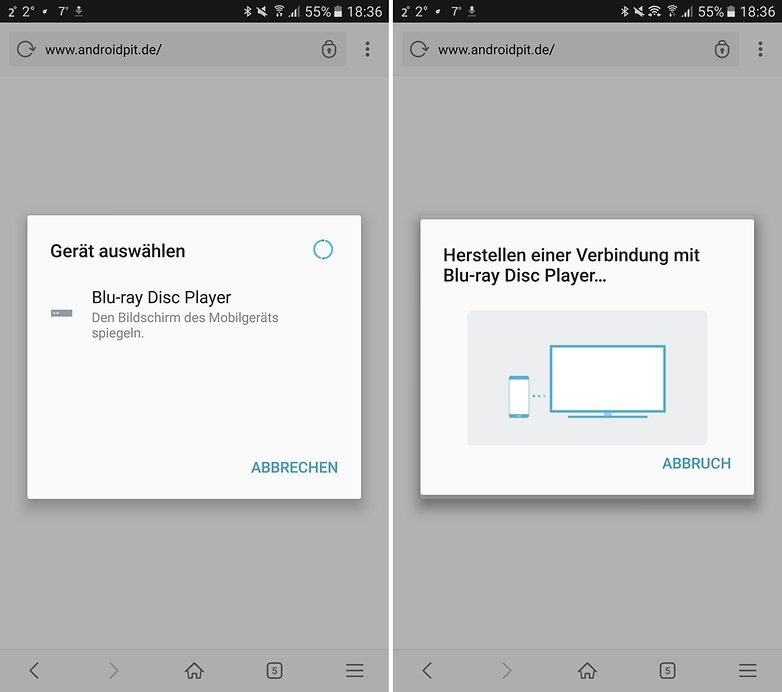 ANDROIDPIT smartphone fernseher
