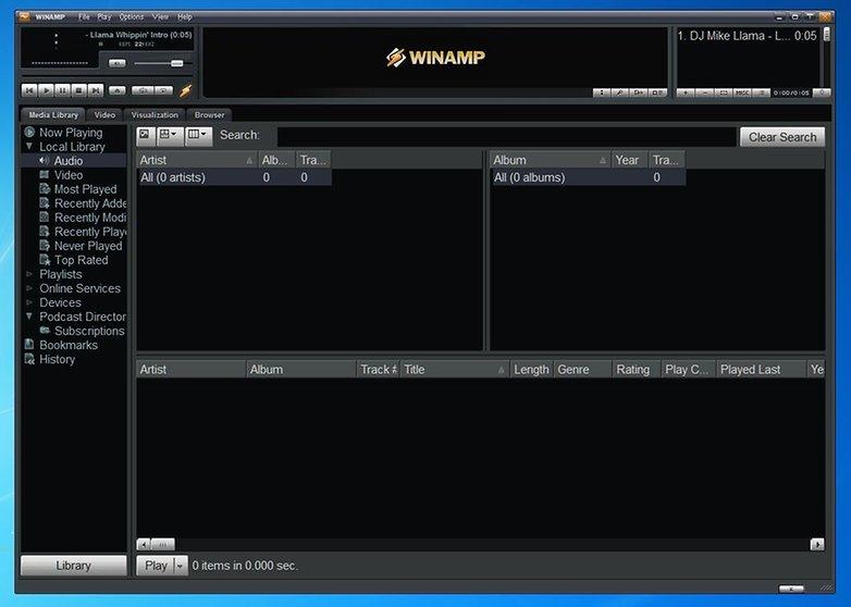 ANDROIDPIT winamp 6