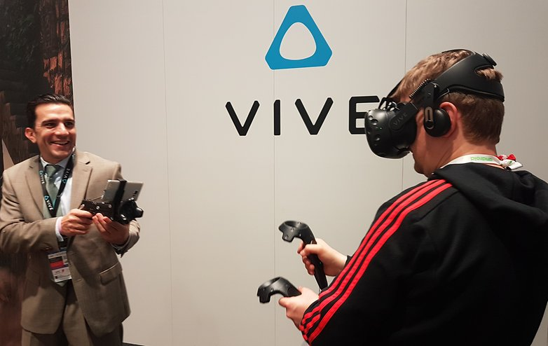 AndroidPIT mwc vr experiences 2