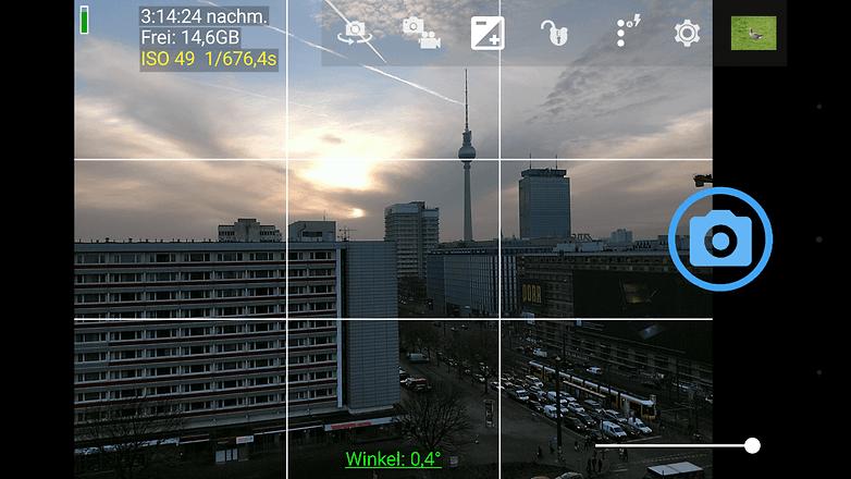 AndroidPIT membuka kamera