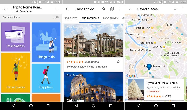AndroidPIT reise apps google trips