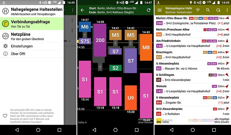 AndroidPIT reise apps oeffi