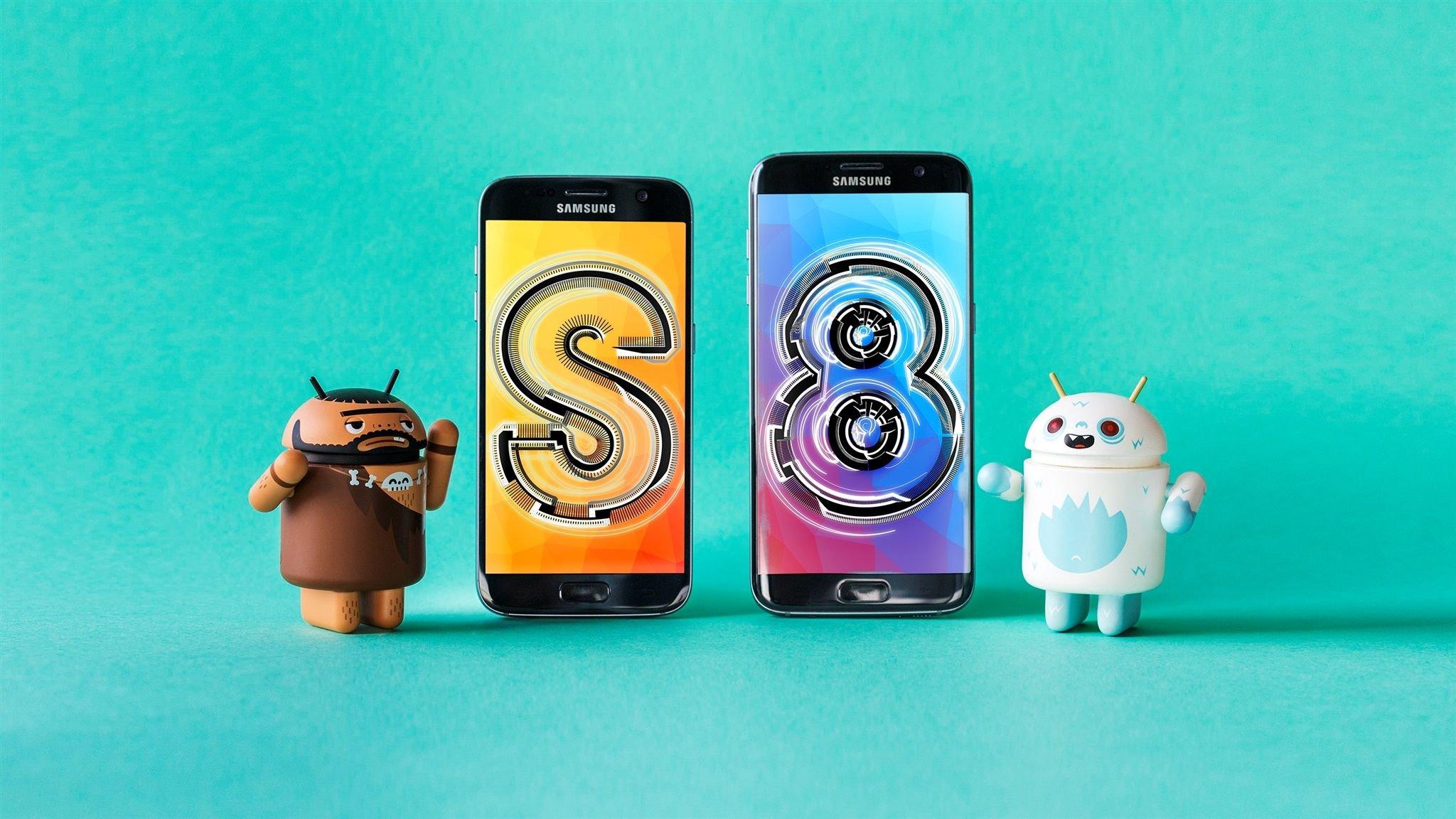 samsung galaxy x le smartphone pliable du cor en n 39 arrivera qu 39 en 2019 androidpit. Black Bedroom Furniture Sets. Home Design Ideas