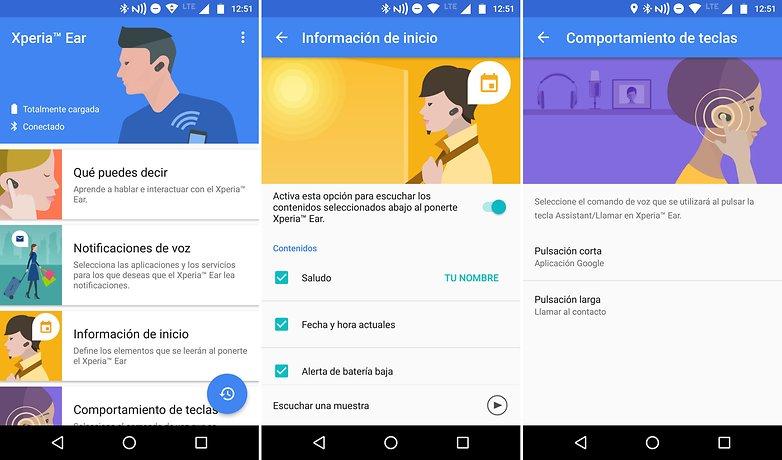 AndroidPIT xperia ear app es