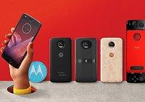 Lenovo präsentiert Moto Z2 Play und neue Moto Mods