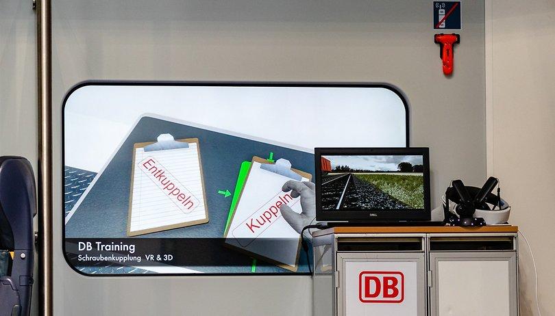Deutsche Bahn: VR macht den Lokführer