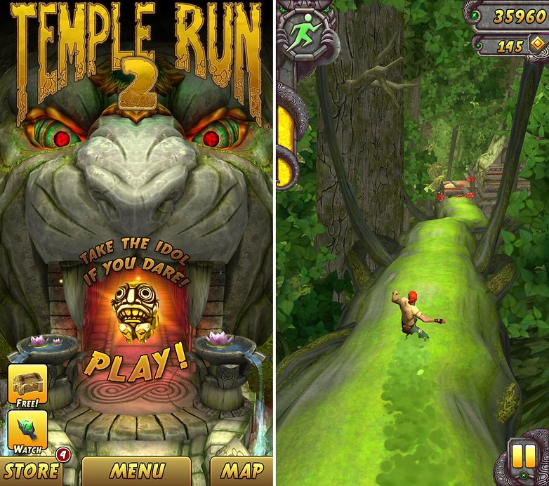 endless runner temple run 2