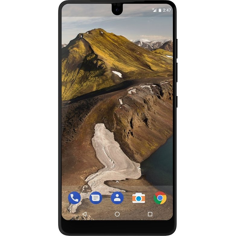 essential phone front