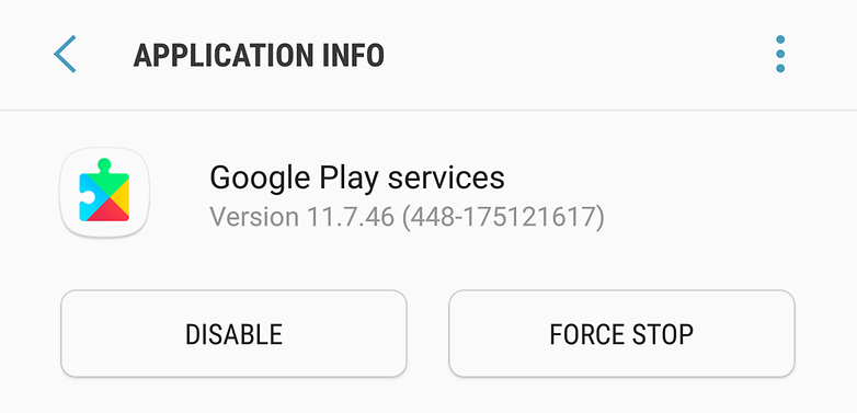 google play dienste version