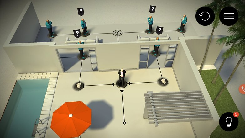 hitman go level screenshot