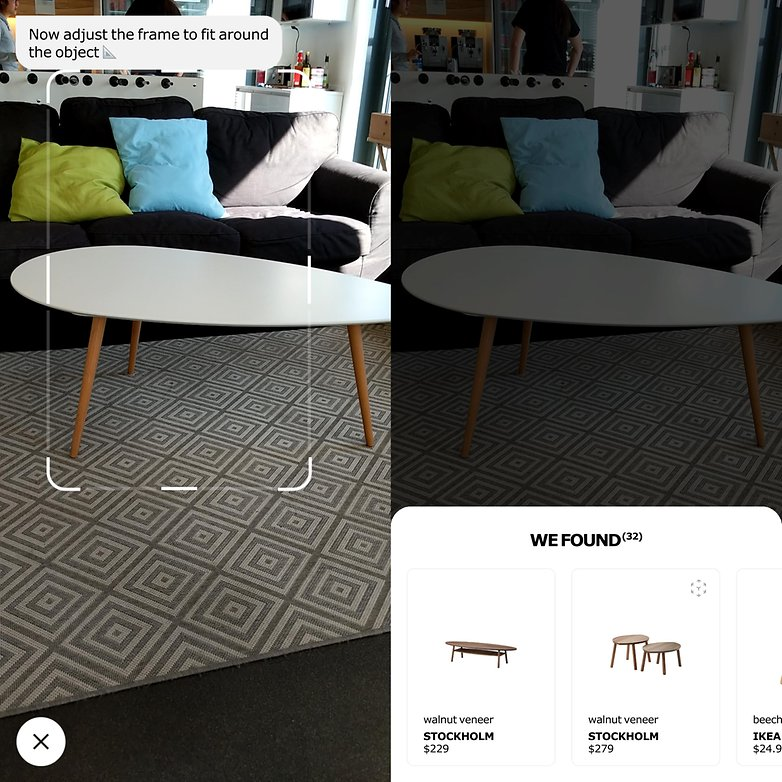 ikea place detection