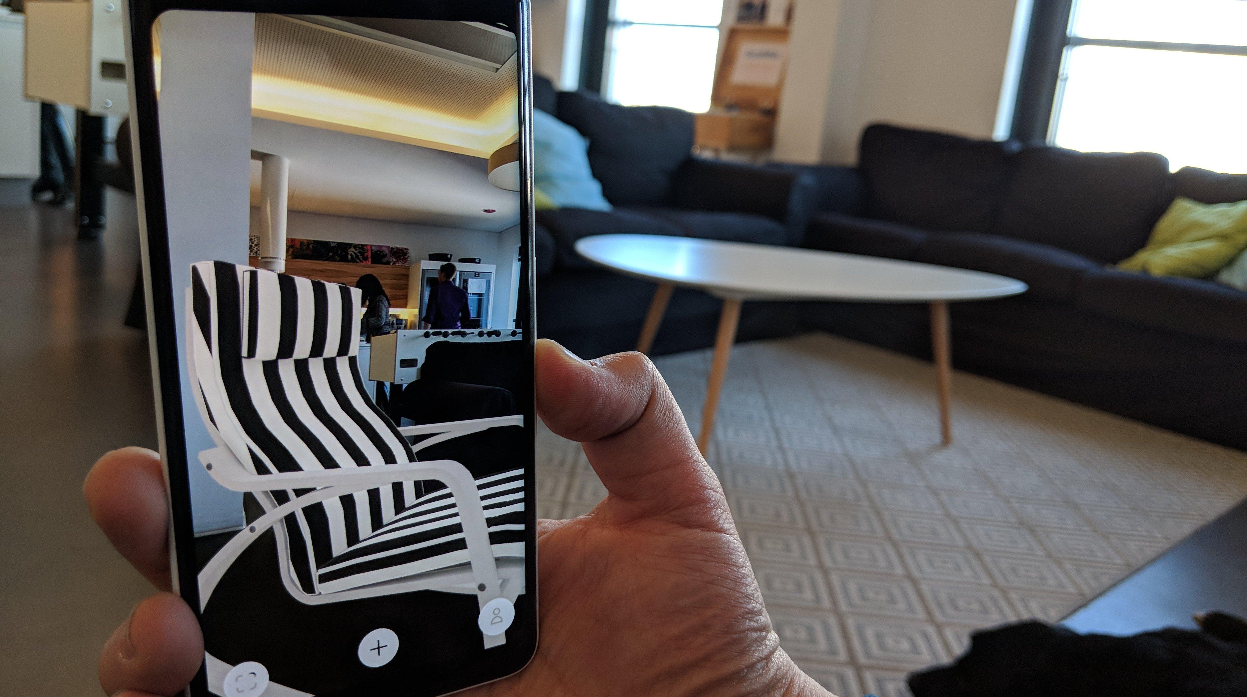 ikea place arcore app verr t welche couch wirklich ins wohnzimmer passt androidpit. Black Bedroom Furniture Sets. Home Design Ideas