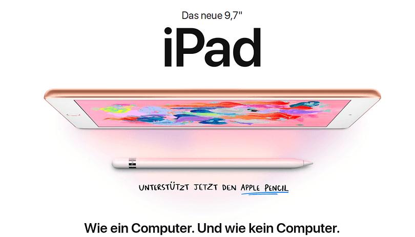 iPad (2018): Apple setzt auf schneller und billiger