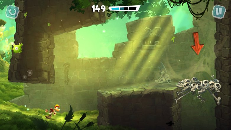 jump n run rayman adventures