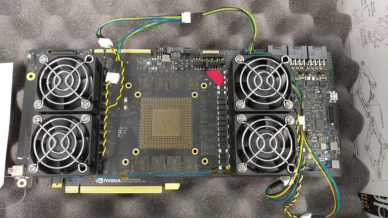 nvidia turing protoype board