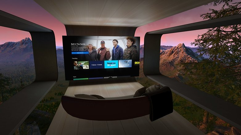 oculus tv couch