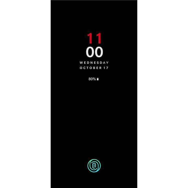 oneplus 6t screen unlock screenshot launch date