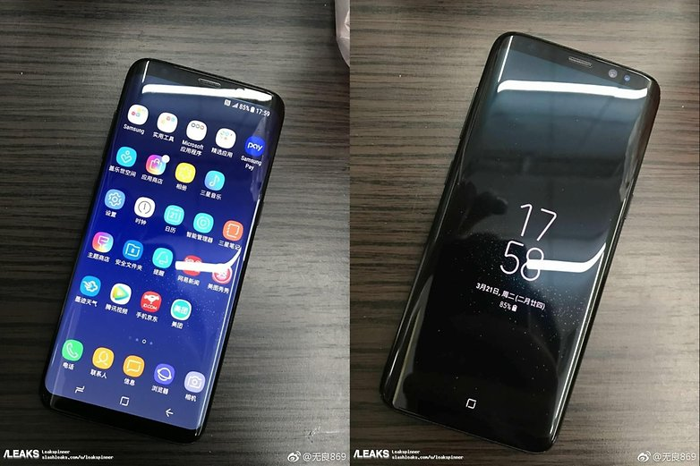 samsung galaxy s8 hires leak