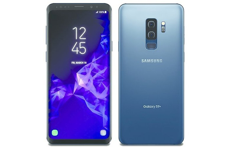 samsung galaxy s9 plus blue evleaks