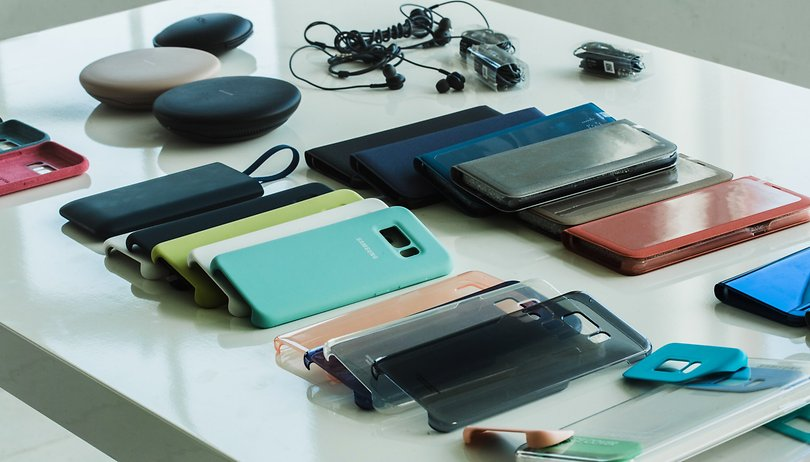 Samsung Galaxy S8/ Galaxy S8+: estes são aos novos acessórios
