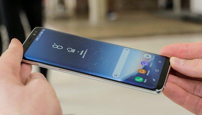 Samsung Galaxy S8+ im Test: Größer ist nicht besser