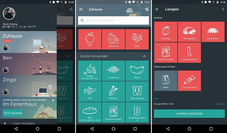 todo einkaufszettel apps android bring