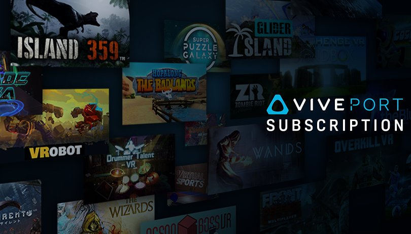 Viveport: News from the virtual reality subscription service