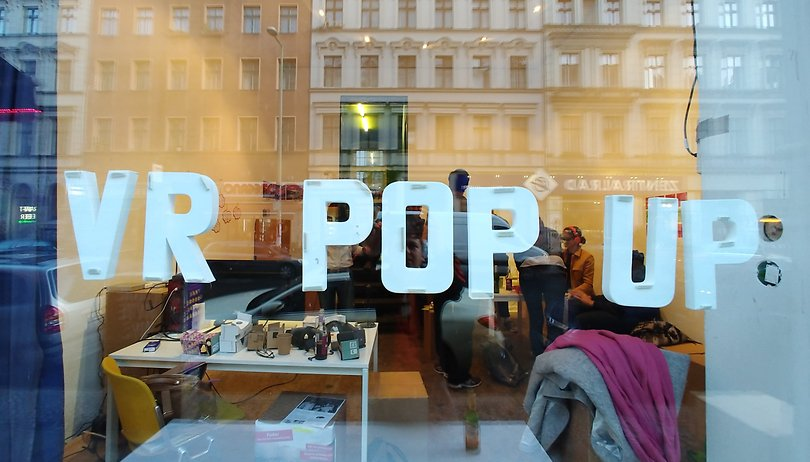 VR Pop up 2017: Berliner lernen VR kennen