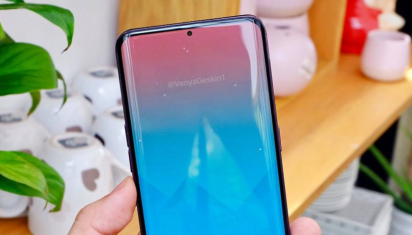 The Galaxy A8s with Infinity-O display makes its first appearance