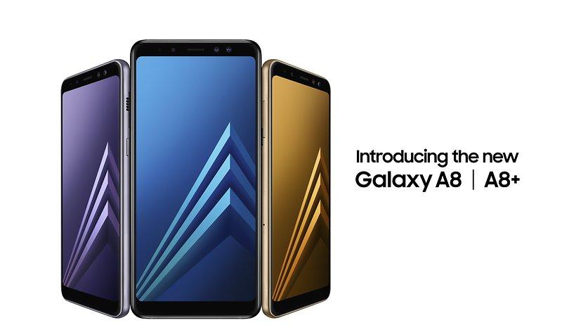 Samsung Galaxy A8 e A8+ 2018: finalmente ufficiali