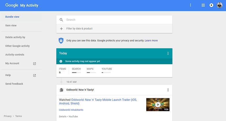 Google la mia attivita