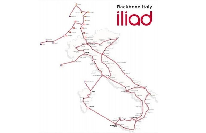 Iliad Italia Copertura bicubic