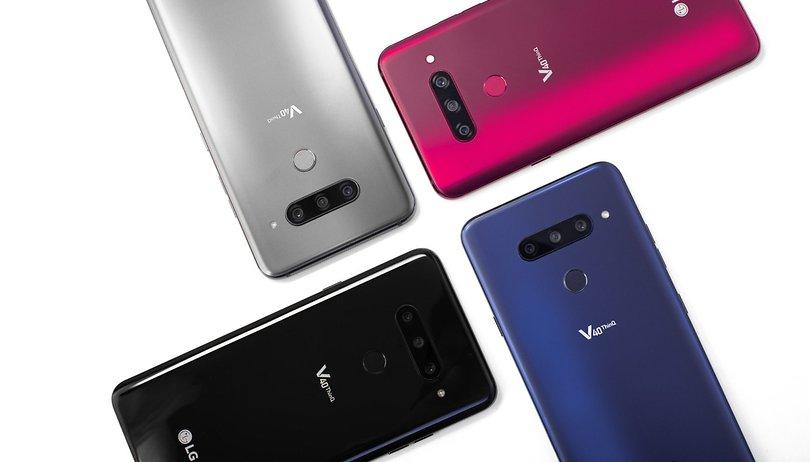 Ya está aquí el LG V40 ThinQ, el primer smartphone con 5 cámaras