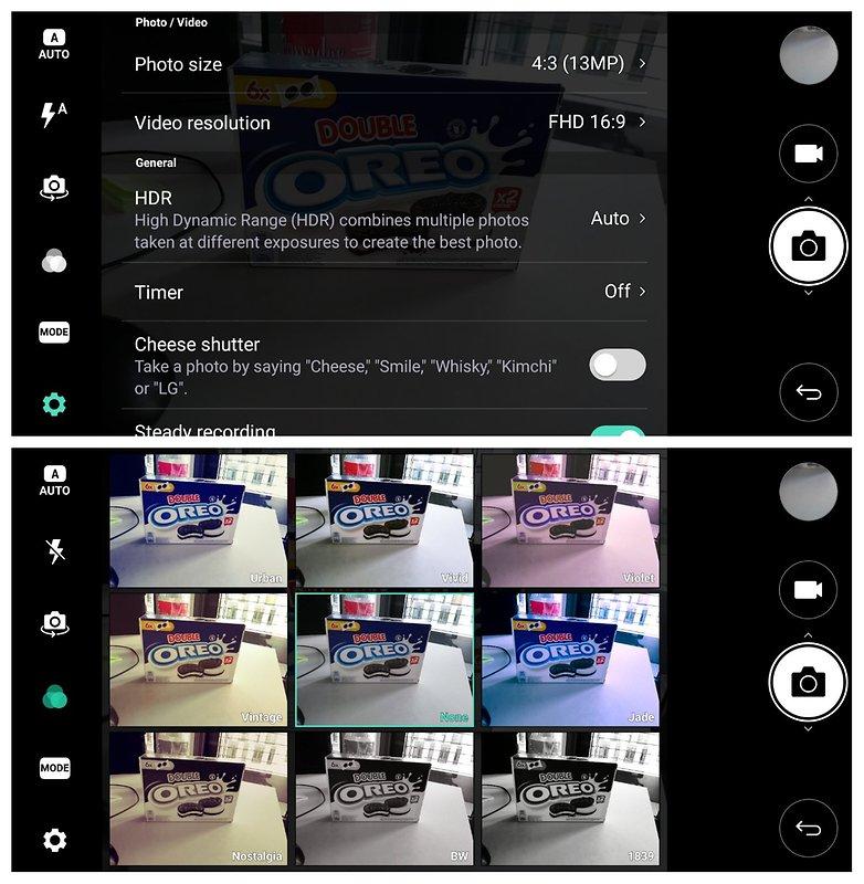 LG Q6 camera 2