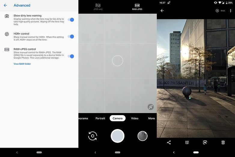 Optimized google camera 3 xl