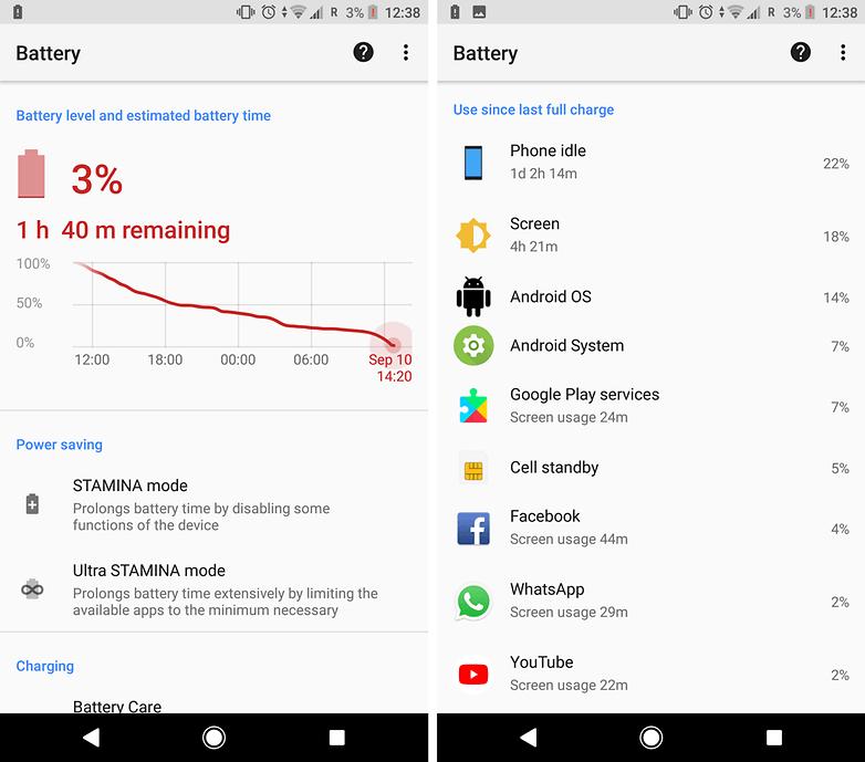 battery xperia xz1