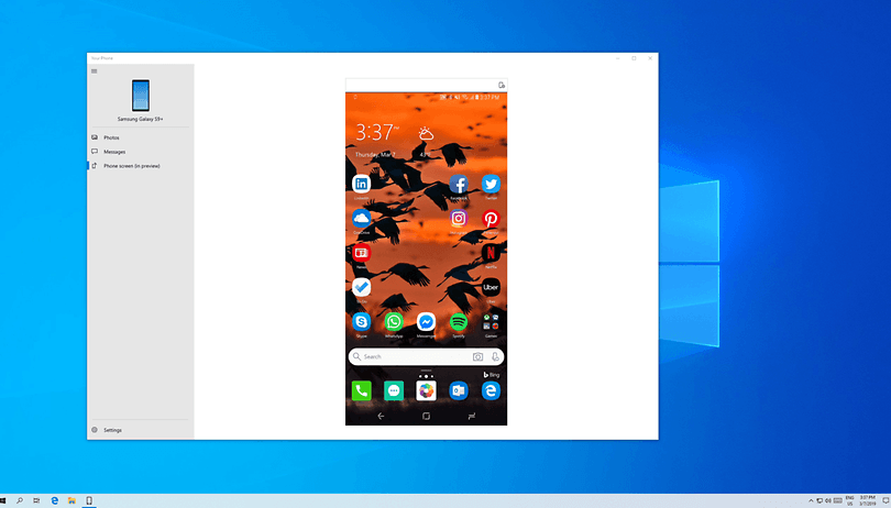 Como utilizar o seu Samsung no Windows 10