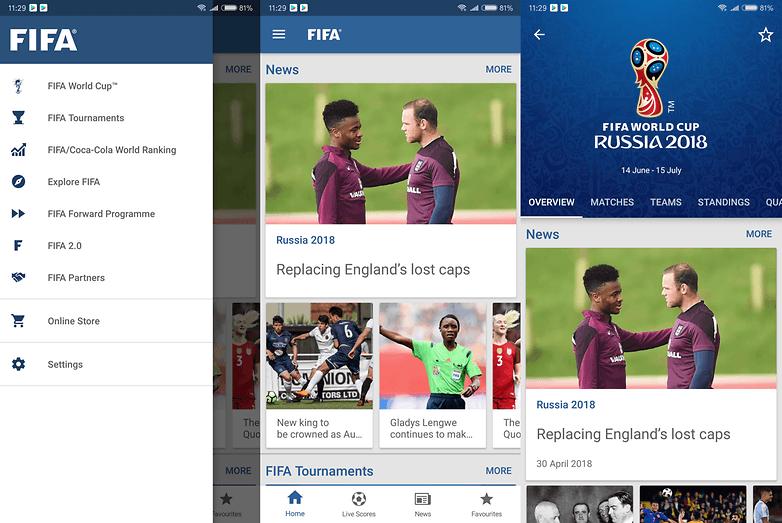 fifa app world cup