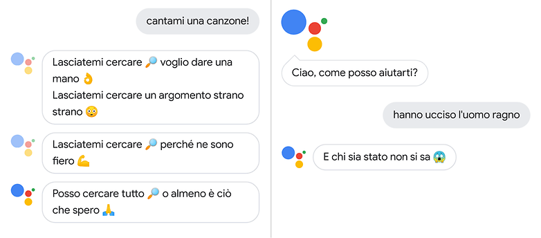 google assistant canta
