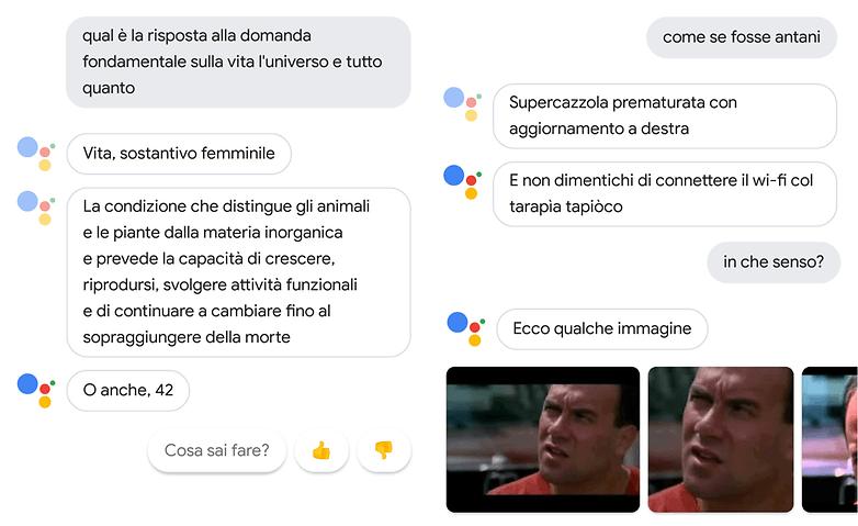 google assistant classici