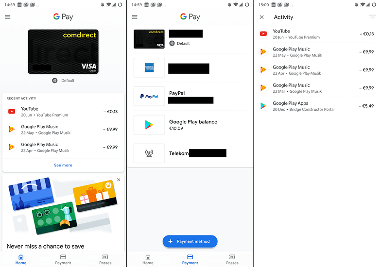 google pay android