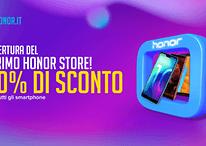 Honor aprirà uno store fisico in Italia: preparatevi a regali e sconti