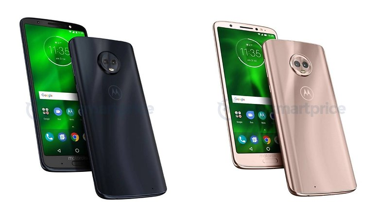 moto g6 plus black gold
