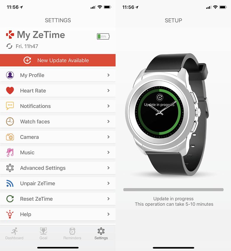 mykronoz zetime iphone