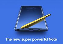 Galaxy Note 9: Samsung pubblica per errore il video introduttivo