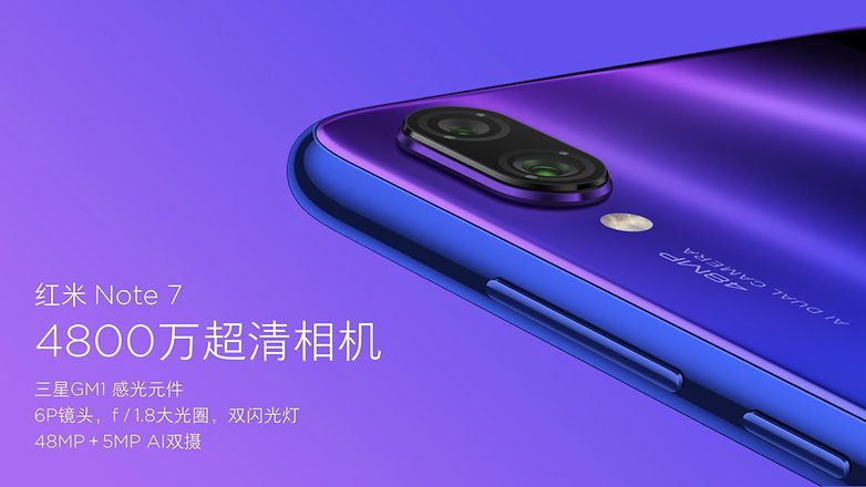 redmi note 7 camera details