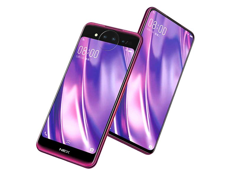 vivo nex dual display edition purple