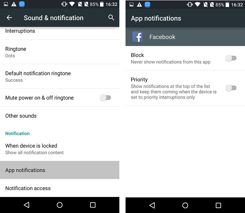 androidpit lollipop app notifications
