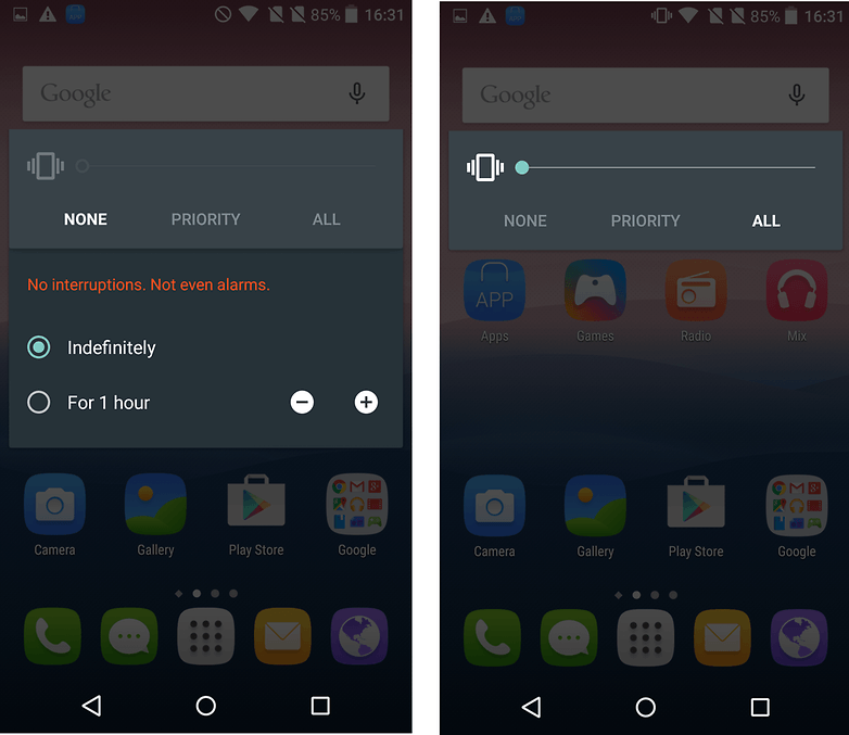 androidpit lollipop notifications none all