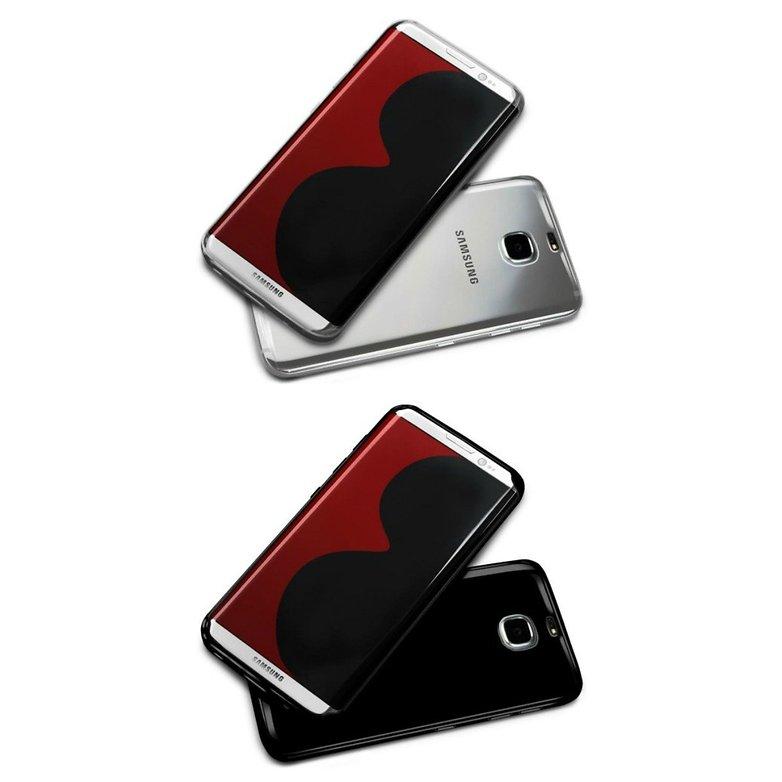 MobileFun Olixar Flexishield Samsung Galaxy S8 Case Black 540x540